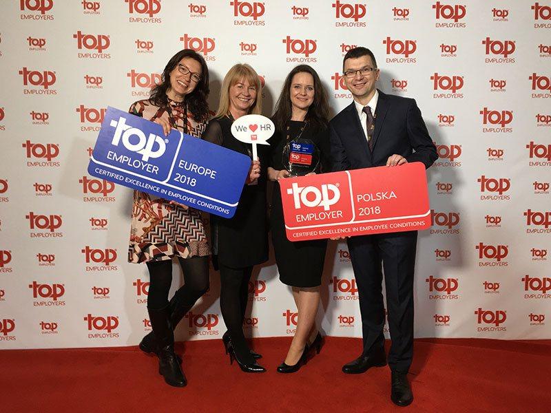 Imperial Tobacco Polska iImperial Tobacco Polska Manufacturing certyfikowane jako Top Employer Polska 2018 orazTop Employer Europe 2018